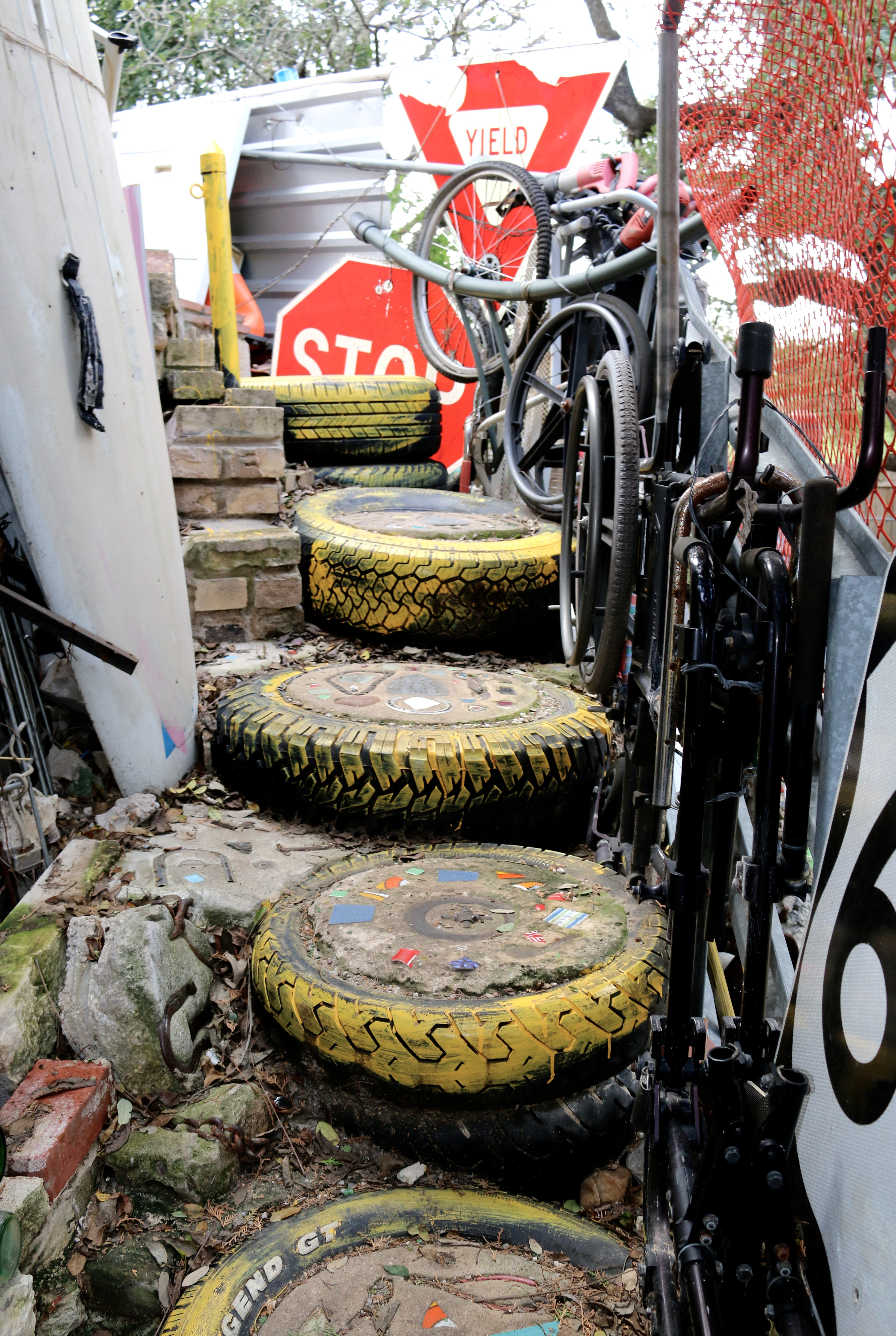 Cathedral of Junk Stairs